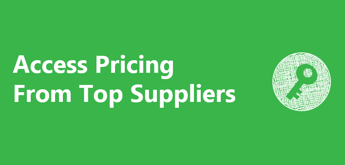 Access Pricing from Top Suppliers