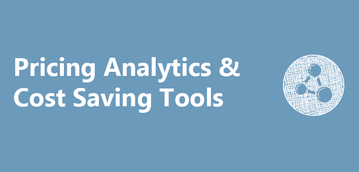 Pricing Analytics & Cost Saving Tools